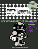 Solving Logarithm Equations - FUN worksheet