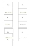 Solving Logarithmic and Exponential Equations Dominoes