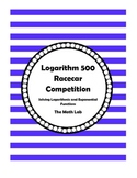 Solving Logarithmic and Exponential Functions - Racecar Competition