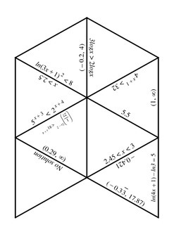 Solving Logs and Exponential Inequalities Puzzle