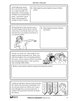 Solving Math Problems For Grades 5 - 6
