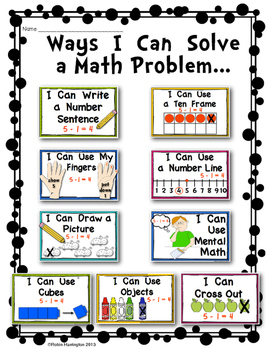 strategies to solve math problems