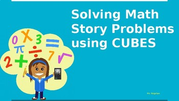 Solving Math Story Problems Using CUBES PowerPoint