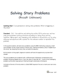 Solving Math Story Problems using Beginning, Middle, End - BME