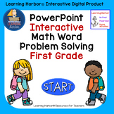 Solving Math Word Problems  1st Grade self correcting Inte