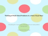 Solving Math Word Problems Using Visuals