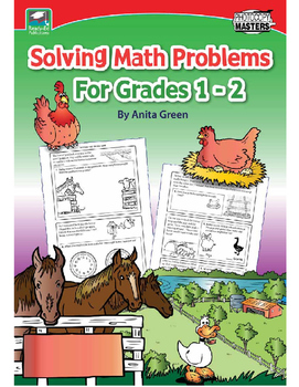 Solving Math Problems For Grades 1 - 2.