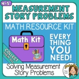 Solving Measurement, Money, & Elapsed Time Story Problems