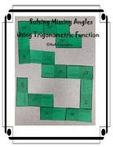 Solving Missing Angles Using Trigonometric Function Math Relay