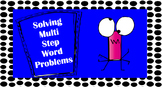 Solving Multi Step Word Problems PowerPoint and Poster