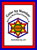 Solving Multi-Step Equations A Color by Number (Distance L