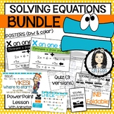 Solving Multi-Step Equations BUNDLE