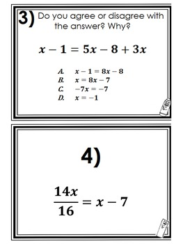 F B C E Bb C F F C D Ed besides Linear Equations Discovery Worksheet Card Sort Special Solutions Solving moreover Linear Multistep Large moreover Fa D E F A B besides A Abda A E C Ef Eabc Ebf Algebra Equations Solving Equations. on multi step equations activity