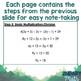 Solving Multi-Step Equations Flipbook