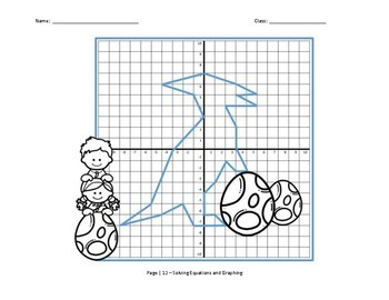 Solving Multi-Step Equations Graphing Activity