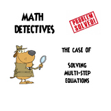 "Solving Multi-Step Equations ""He Said, She Said"" Error Ana"