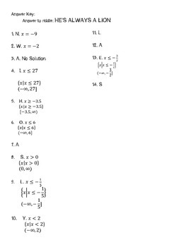 Solving Multi-Step Equations & Inequalities