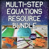 Multi-Step Equations Activities