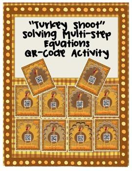 Solving Multi-Step Equations Turkey Shoot
