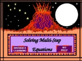 Power-Point:  Solving Multi-Step Equations in Algebra
