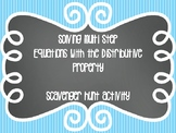 Solving Multi Step Equations with the Distributive Property