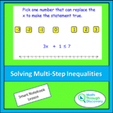 Algebra 1 - Solving Multi-Step Inequalities