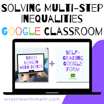 Solving Multi Step Inequalities Activity Teaching Resources