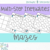 Solving Multi-Step Inequalities Maze