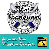 Solving Multi Step Inequalities With Variables on Both Sides - Conquest Game