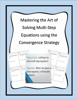 Solving Multi-Step Linear Equations - Study & Review & Convergence Strategy