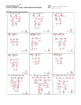 Solving Multi-Step Linear Equations with Variables on Both Sides