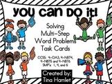Solving Multi-Step Word Problems 4-OA3, 4-NBT4, 4-NBT5, 4-NBT6