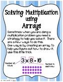 Solving Multiplication - Arrays