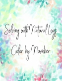Solving Natural Logs Color by Number
