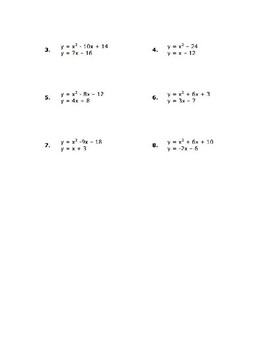 Solving Non-Linear Systems
