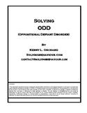 Solving ODD - Oppositional Defiant Disorder