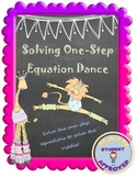 Solving One-Step Equation Fun Activity