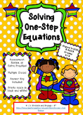 Linear Equations with One Step for Higher Level Reasoning Skills