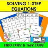 One Step Equations Bingo