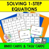 Solving One Step Equations Bingo