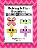 Solving One-Step Equations Bundle-6.EE.7