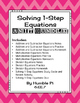 Solving One-Step Equations Bundle-6.EE.7