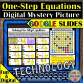 Solving One-Step Equations Digital Mystery in Google Slide