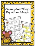 Solving One-Step Equations Maze