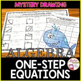 Solving One-Step Equations Mystery Drawing