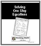 Solving One Step Equations Notes for Interactive Notebooks