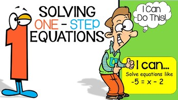 Solving One-Step Equations PowerPoint Lesson