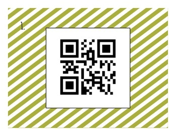 Solving One-Step Equations QR Code Task Cards (Adding & Subtracting)