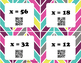 Solving One-Step Equations QR Task Card Activity