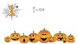Solving One-Step Equations Set B (Decimals) Halloween Theme
